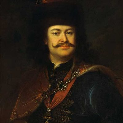 II. Rákóci Ferenc - Mányoki Ádám festménye