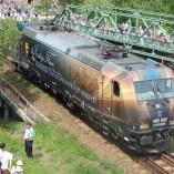 Rákóczi mozdony az Ezeréves Határon