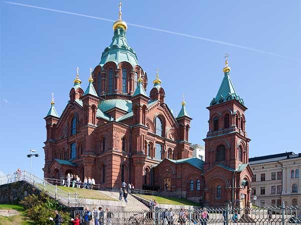 Helsinki - Uspenski katedrális