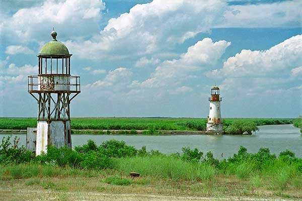 Duna-delta Sulina világítótornyai