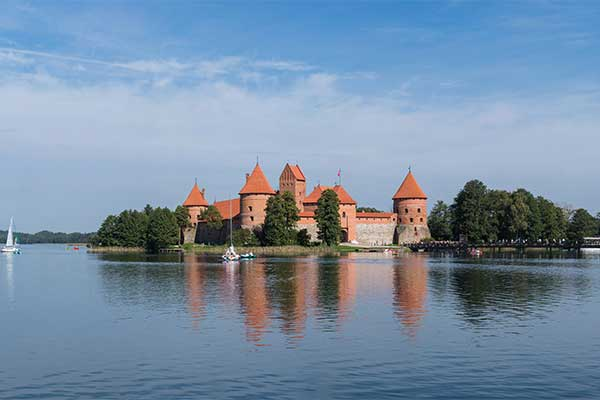 Trakai-tórendszer: Vytautas romantikus lovagvára