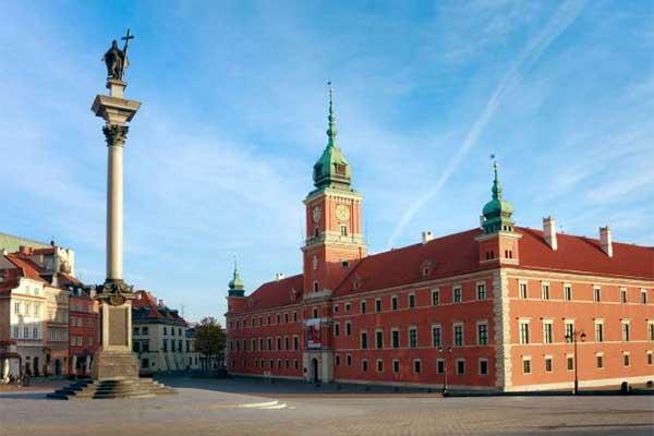 Varsó - Királyi palota