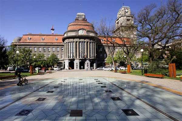 Zenta városháza