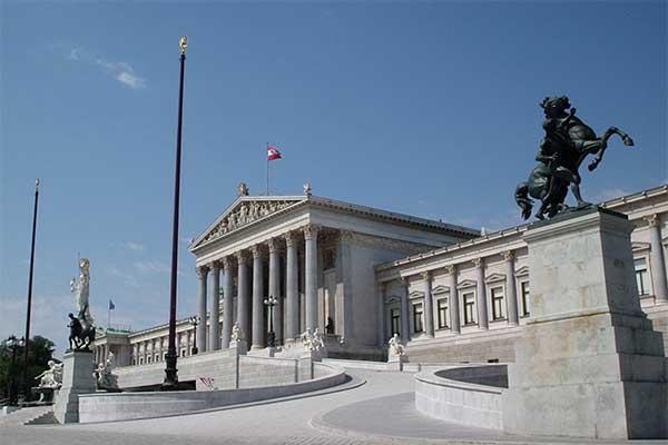 Bécs - Parlament