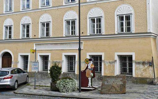 Braunau - Hitler szülőháza