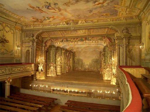 Cesky Krumlov XVII. századi színház