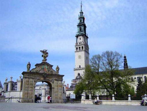 Czestochowa - Jasna Gora kolostortemplom