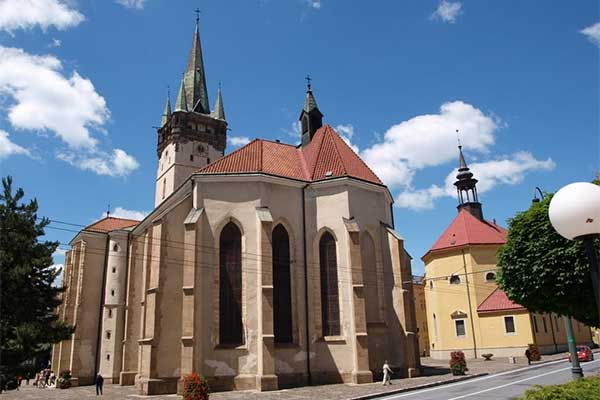 Eperjes - Szent Miklós templom