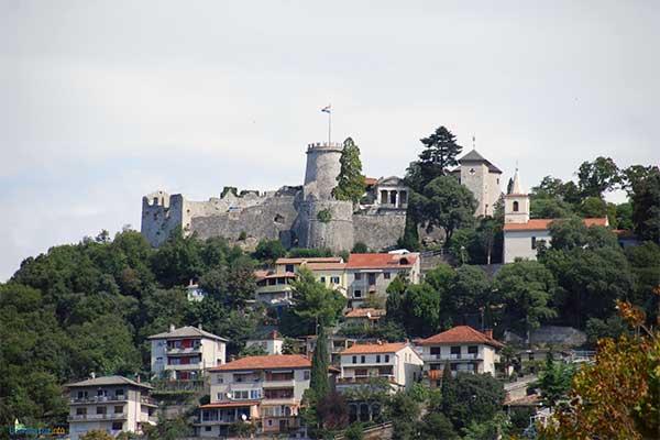Fiume - Rijeka -Trsat vára