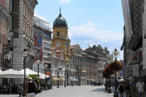 Fiume - Rijeka - korzó