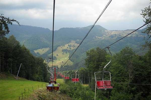 Mogosa - libegőzés a Gutin-hegységben