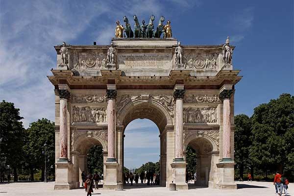 Párizs -Arc de Triomphe du Carrousel
