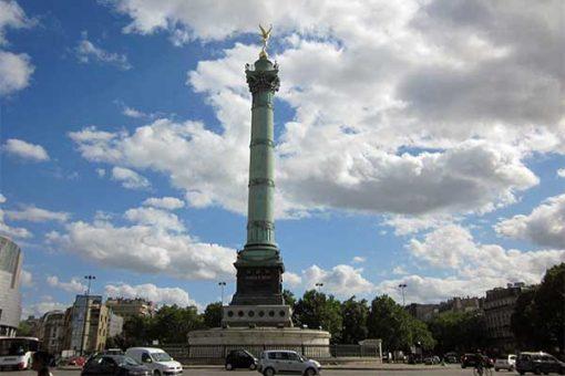 Párizs - Bastille tér
