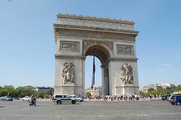 Párizs - Diadalív