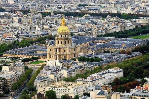 Párizs - Invadilusok temploma