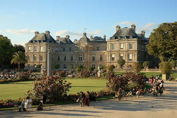 Párizs - Luxemburg Palota park