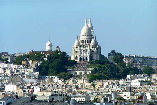 Párizs -Sacre Ceaur