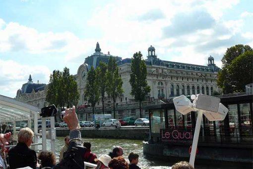 Párizs - hajózás a Szajnán