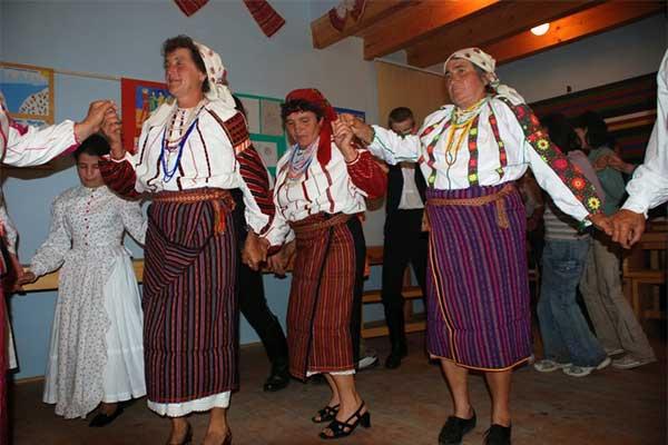 Pusztina - Magyar ház
