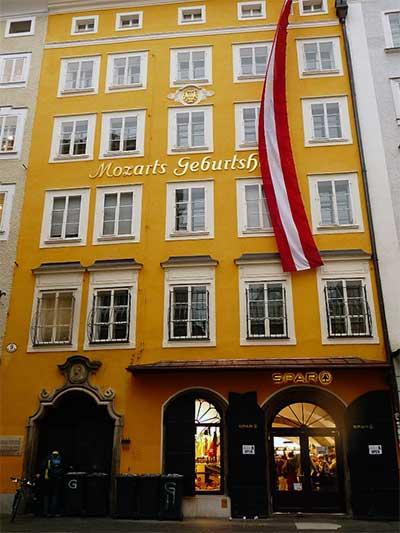 Salzburg - Mozart-ház