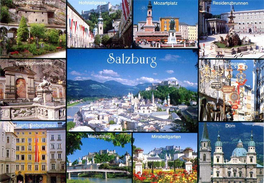 Salzburg - montázs