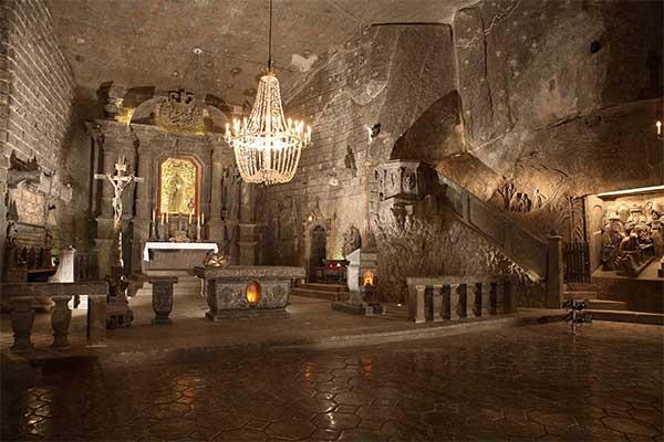 Wieliczka - Szent Kinga kápolna