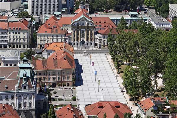 Ljubjana - Kongresszusi tér