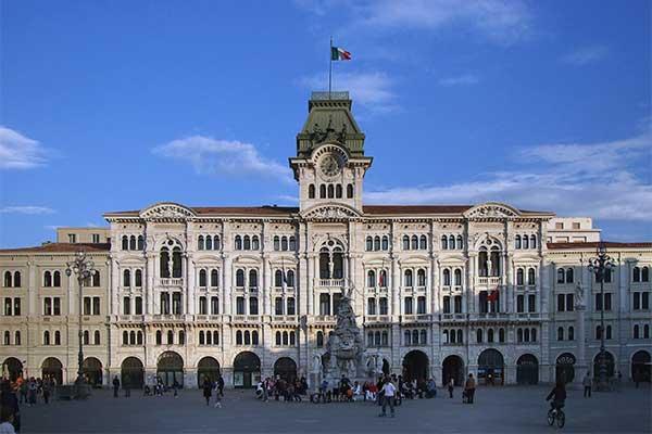 Trieszt - Városháza