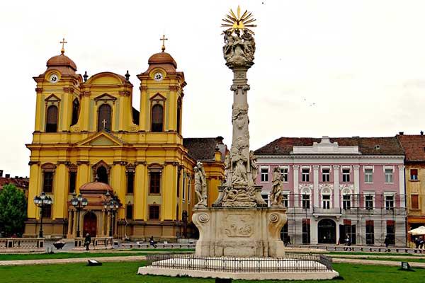 03-Temesvár szentháromság szobor