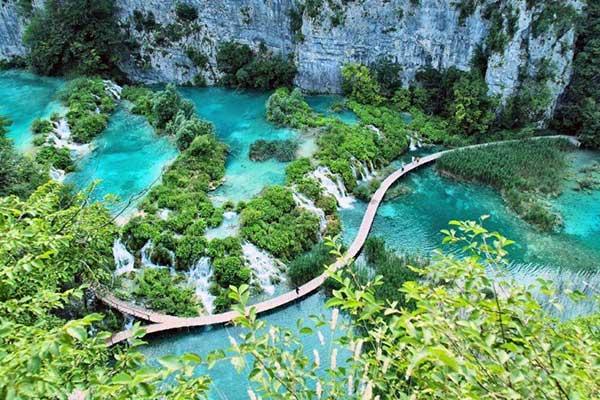 04-Plitvice Látogatás a Nemzeti Parkban