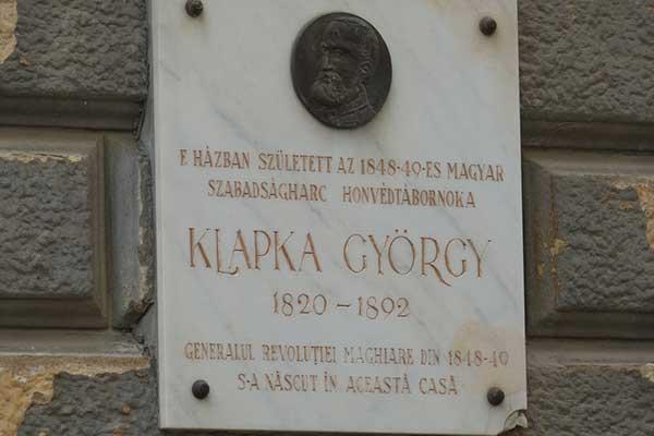04-Temesvar Klapka György emléktábla
