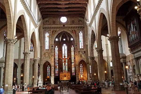 07-Firenze Santa Croce templom