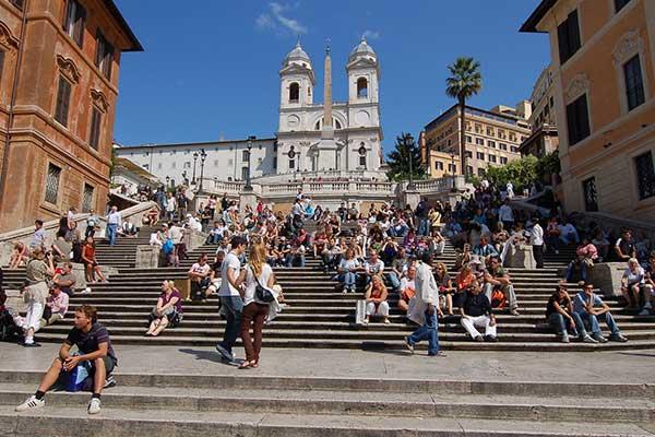 12-Róma spanyol lépcső